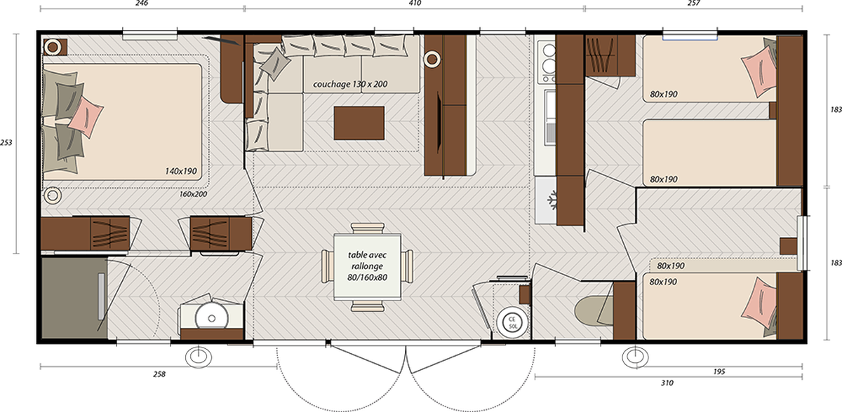 irm hampton 2 ou 3. Black Bedroom Furniture Sets. Home Design Ideas