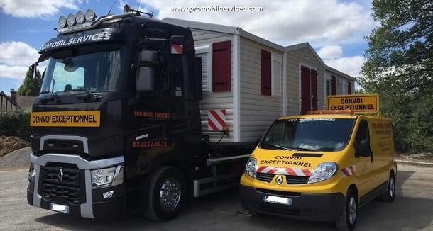 transport de mobil home en normandie transport voiture pilote france. Black Bedroom Furniture Sets. Home Design Ideas